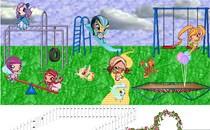 Играть онлайн Пиксики в парке развлечений бесплатно