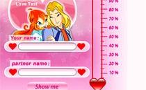 Играть онлайн Тест любви Винкс бесплатно