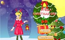 Играть онлайн Винкс Стелла на Рождество бесплатно