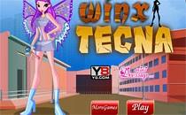 Играть онлайн Одень фею Винкс бесплатно
