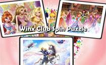 Играть онлайн Крутящиеся пазлы Винкс бесплатно