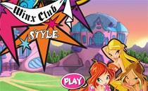 Играть онлайн Стильная одежда Винкс бесплатно