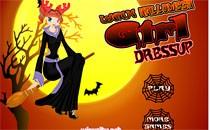 Играть онлайн Одеваем Винкс на Хэллоуин бесплатно