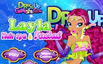 Играть онлайн Лейла в спа-салоне бесплатно