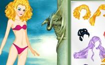 Играть онлайн Клуб Винкс макияж русалки бесплатно