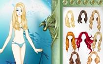 Играть онлайн Одевалка Винкс русалка бесплатно