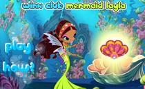Играть онлайн Бродилка Винкс Лейла русалка бесплатно