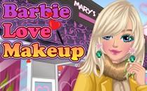 Играть онлайн Барби любовный макияж бесплатно