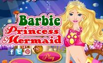 Играть онлайн Барби принцесса русалка бесплатно