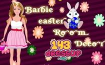 Играть онлайн Расставляем мебель в доме Барби бесплатно
