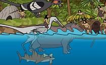 Играть онлайн Доисторические акулы бесплатно