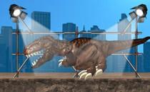 Игра динозавр в нью йорке о