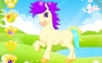 Играть онлайн Моя прекрасная маленькая Пони бесплатно