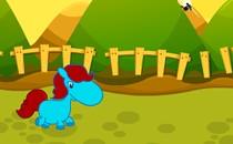Играть онлайн Гонки на пони бесплатно