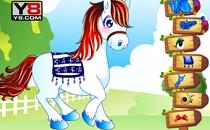 Играть онлайн Прогулка на пони бесплатно