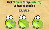 Играть онлайн Нажимаем на лягушку бесплатно