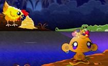 Играть онлайн Счастливая обезьянка бесплатно