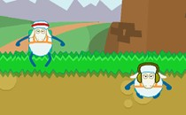 Играть онлайн Овцы парашютисты бесплатно