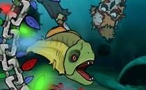 Играть онлайн Накорми рыбок бесплатно