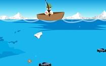 Играть онлайн Бен 10 на рыбалке бесплатно