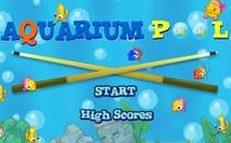 Играть онлайн Бильярд рыбками в аквариуме бесплатно