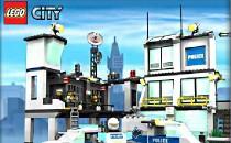 Играть онлайн Лего полиция бесплатно