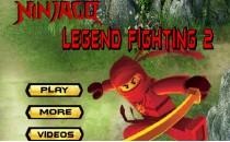Играть онлайн Лего драки ниндзя бесплатно