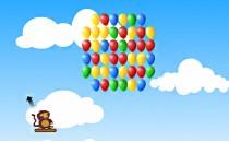 Играть онлайн Лопаем шары бесплатно