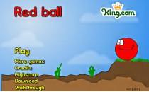 Играть онлайн Красный шар 1 бесплатно