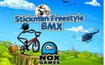 Играть онлайн Стикмен фристайл BMX бесплатно