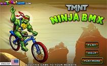 Играть онлайн BMX черепашки ниндзя бесплатно