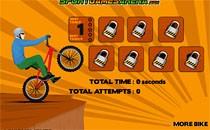 Играть онлайн Трюки на велосипеде бесплатно