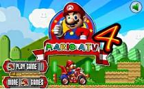Играть онлайн Марио на квадроцикле бесплатно