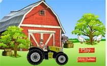 Играть онлайн Езда на тракторе по ферме бесплатно