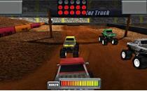 Играть онлайн Гонки грузовиков по грязи бесплатно