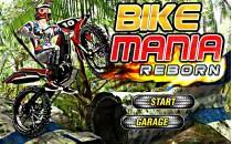Играть онлайн Мотоцикл по грязи бесплатно