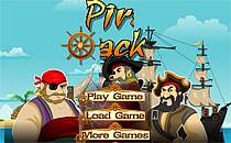 Играть онлайн Пираты Карибского моря атакуют врага бесплатно