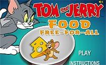 Играть онлайн Том и Джерри: охота за едой бесплатно