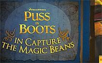 Играть онлайн Кот в сапогах ворует волшебные бобы бесплатно