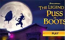 Играть онлайн Бродилка - Легендарный кот в сапогах бесплатно