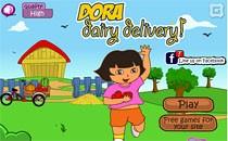 Играть онлайн Даша на доставке бесплатно