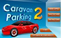 Играть онлайн Парковка машин с прицепом бесплатно