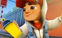 Играть онлайн Subway Surfers на планшет бесплатно