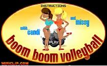 Играть онлайн Пляжный волейбол на двоих бесплатно