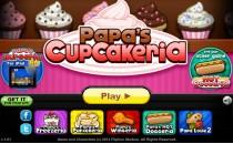 Играть онлайн Кекс шоп без ограничения бесплатно