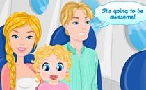 Играть онлайн Папа и мама Барби бесплатно