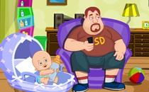 Играть онлайн Малыш и папа бесплатно