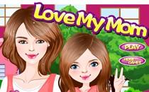 Играть онлайн Одевать маму и дочку бесплатно