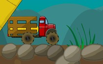 Играть онлайн Возить груз на машине бесплатно