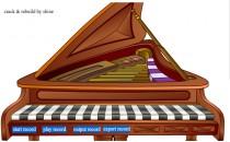 Играть онлайн Игра на фортепиано бесплатно
